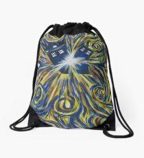 Tardis in Time Wortex Explosion Drawstring Bag
