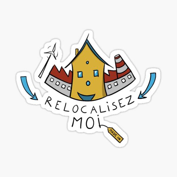 Relocate Me - FR Sticker