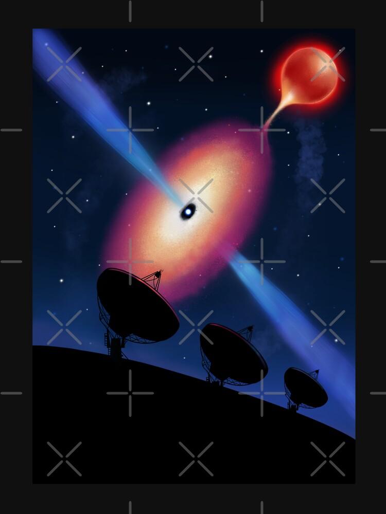 Radio telescopes and a neutron star by Elenanaylor