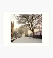 Winter In The Maiden City Art Print