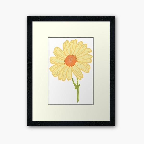 Daisy Daisy Daisy Framed Art Print