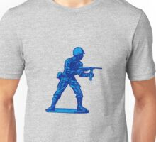 blue toy soldier Unisex T-Shirt