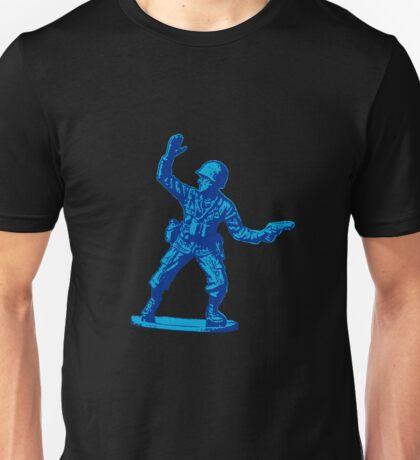 blue toy soldier 2 Unisex T-Shirt