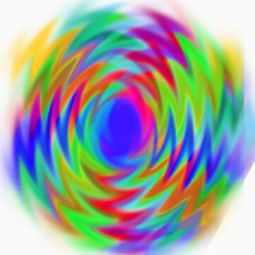 vivid spiral  by knifecloud