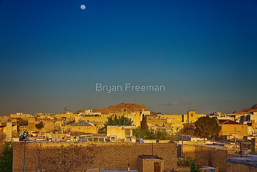 Out The Back of The Bazaar - Isfahan - Iran by Bryan Freeman
