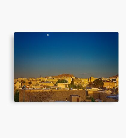 Out The Back of The Bazaar - Isfahan - Iran Canvas Print