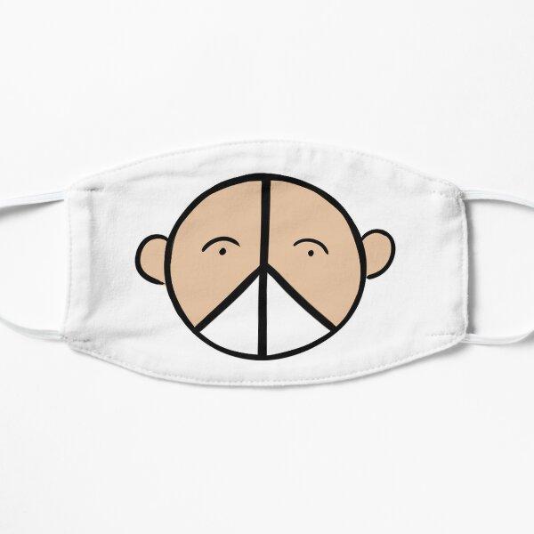 Paix, amour et masque Masque sans plis