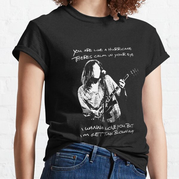 Neil Young Homage Like A Hurricane Classic T-Shirt