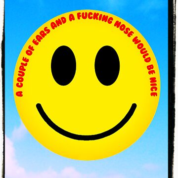 The inevitable political and anti-discriminatory demands of 1970s smiley  by what-a-shocker
