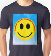 The inevitable political and anti-discriminatory demands of 1970s smiley  Unisex T-Shirt