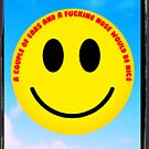 The inevitable political and anti-discriminatory demands of 1970s smiley  by scarlet monahan