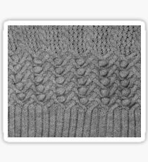 knitted ornament Sticker