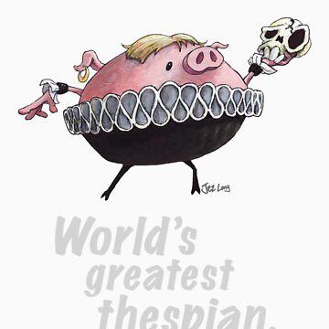 Hamlet - World's Greatest Thespian (Light text) by JezLong