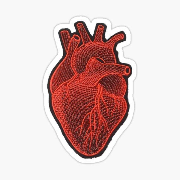 Heart Patch Sticker