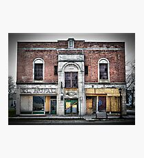 Old Building on Broadway Photographic Print