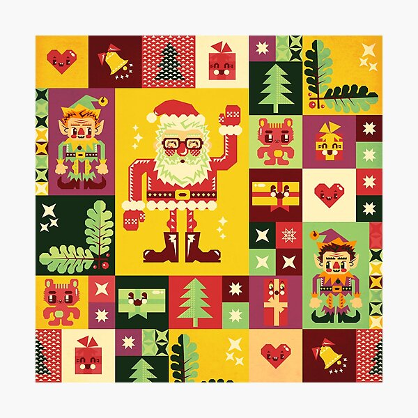 Christmas Pattern No. 1 Photographic Print