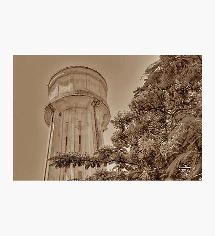 Water Tower in Nassau, The Bahamas Photographic Print