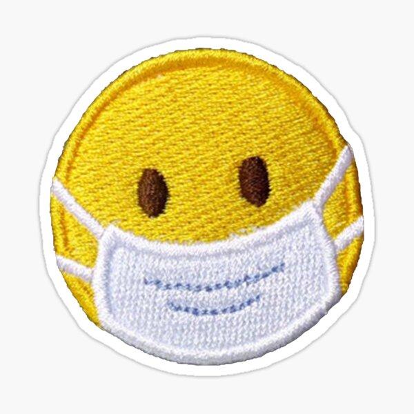 Smiley Patch 2020 Sticker