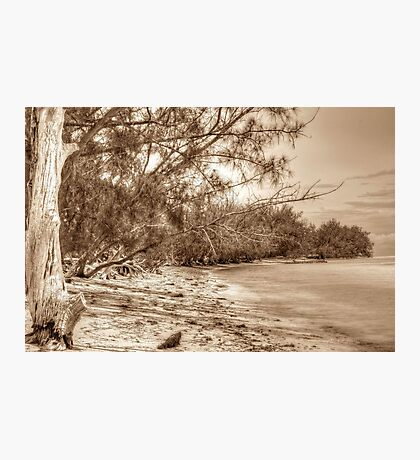 Coral Harbour Beach in Nassau, The Bahamas Photographic Print