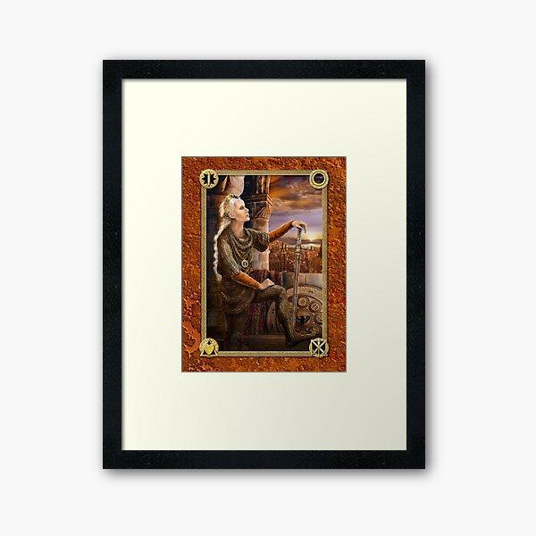 Sovereign - The Keys of Power Trilogy Framed Art Print