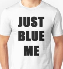 Just Blue (Black) T-Shirt
