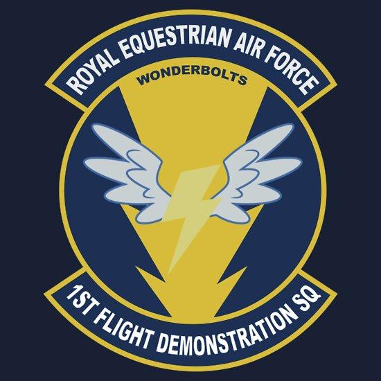 TShirtGifter presents: Wonderbolt Squadron Shirt (Large Patch) | Unisex T-Shirt
