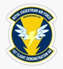 Wonderbolt Squadron Shirt (Large Patch) Sticker