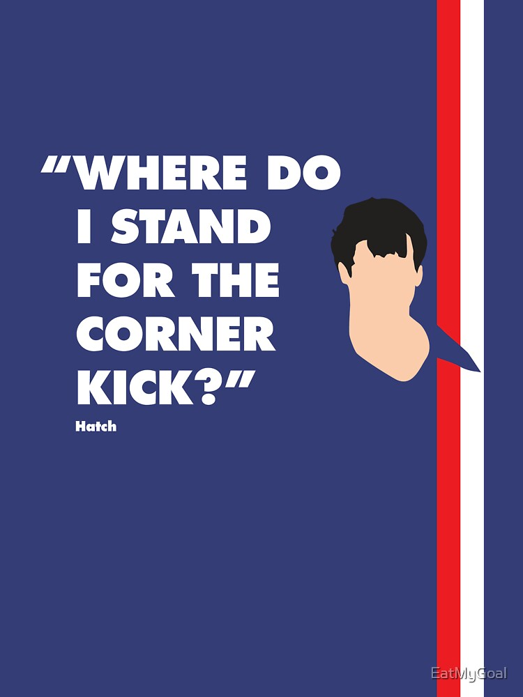 Where do i stand for a corner kick? by EatMyGoal