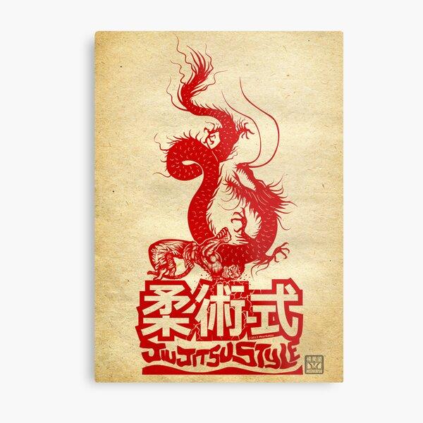 Monkey King Defeats The Dragon Metal Print