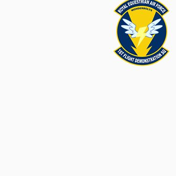 Wonderbolt Squadron Shirt (small patch) by mattings