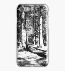 Trees in Ink iPhone Case/Skin