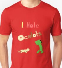 I Hate Ocelots T-Shirt