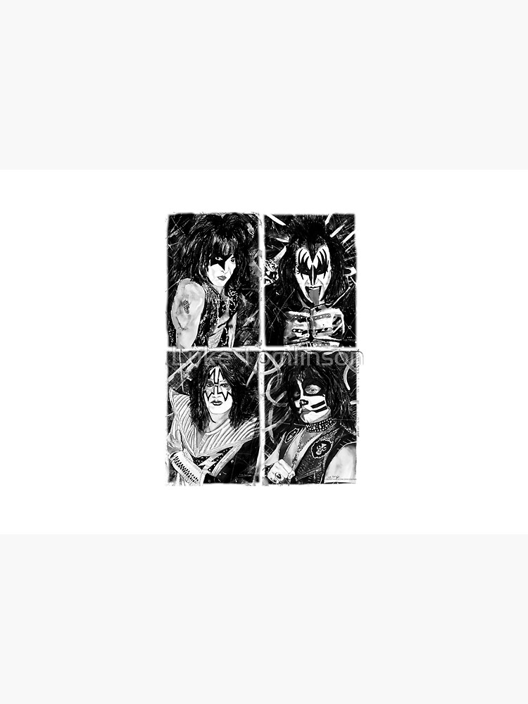 KISS® - Ink Original (Black and White) by lucafon18