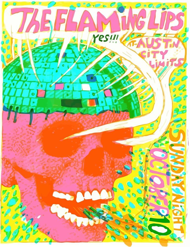 Flaming Lips Austin City Limits by davidphillips21