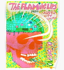 Flaming Lips Austin City Limits Poster