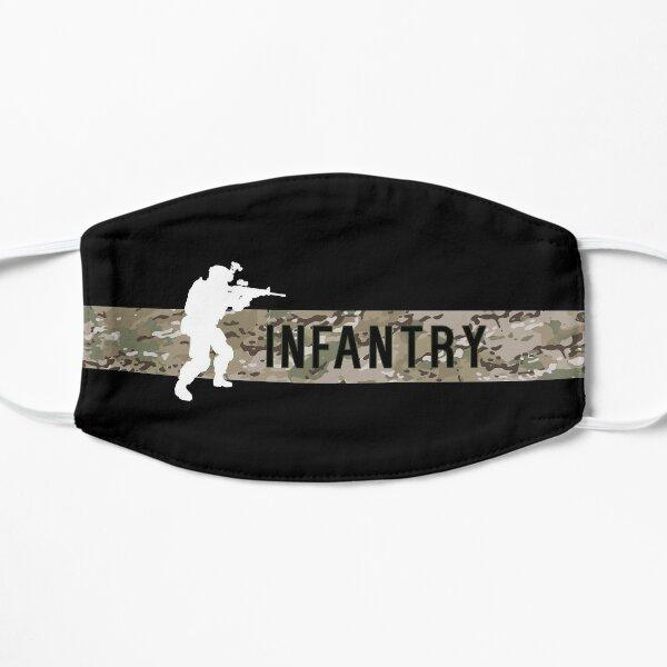 US Military Infantry - Black Shirts Flat Mask