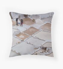 Salt Ponds, Maras Throw Pillow