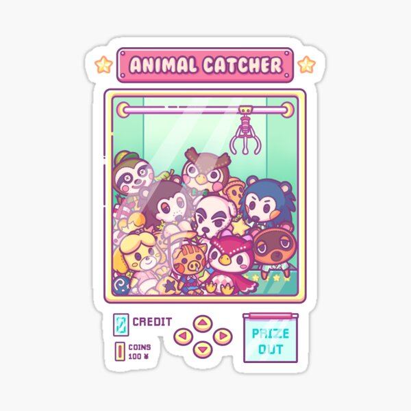 Animal Catcher Sticker