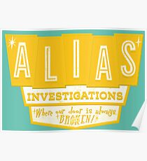 Alias-Untersuchungen Poster