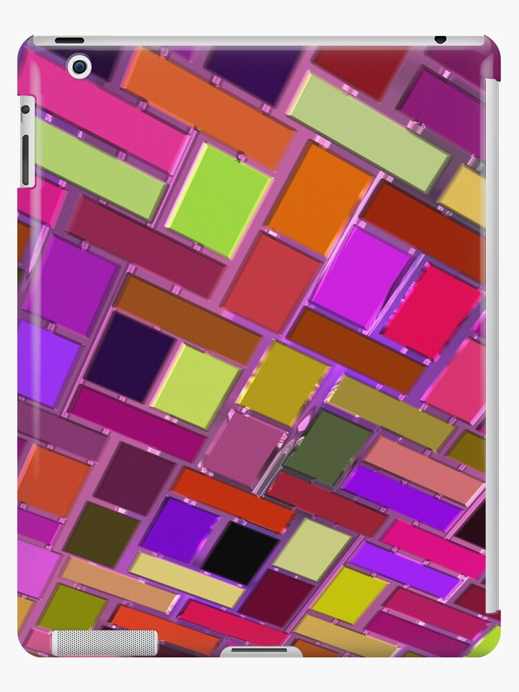 Pink and other color tiles by RosiLorz