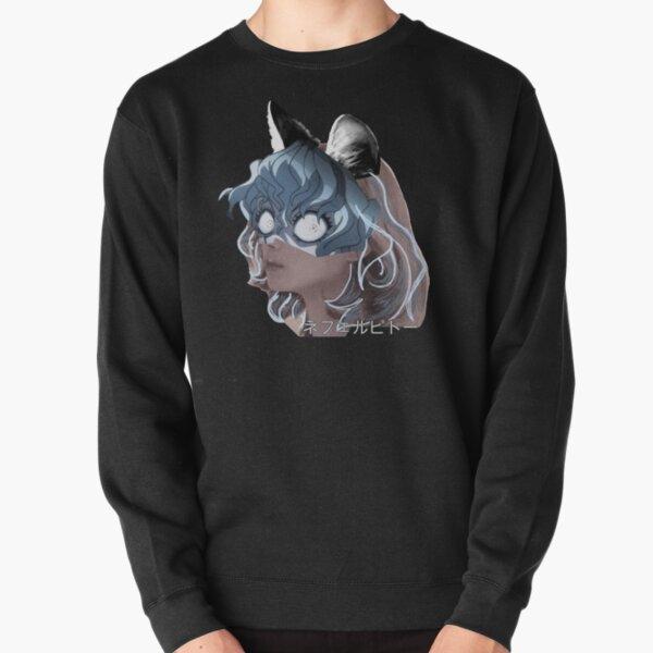 Neferpitou portrait Pullover Sweatshirt