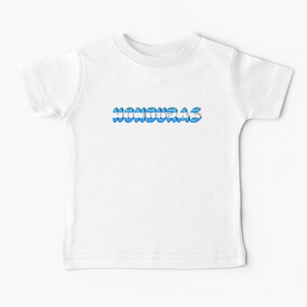¡Honduras! Camiseta para bebés