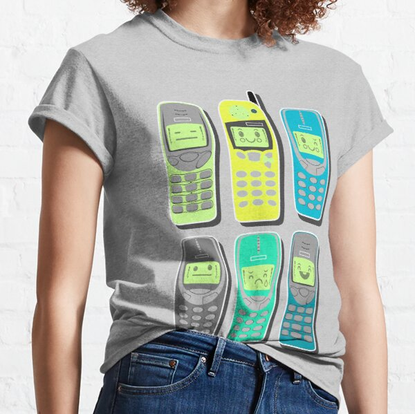 Vintage Cellphone Pattern Classic T-Shirt