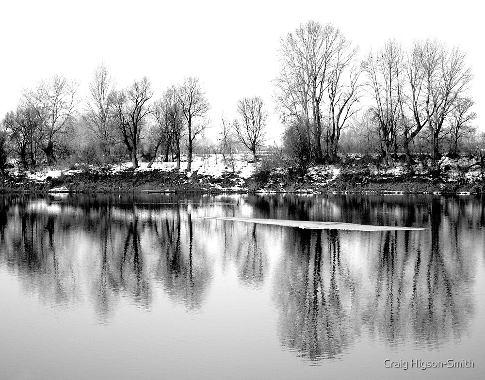 Ice on the Drina II by Craig Higson-Smith