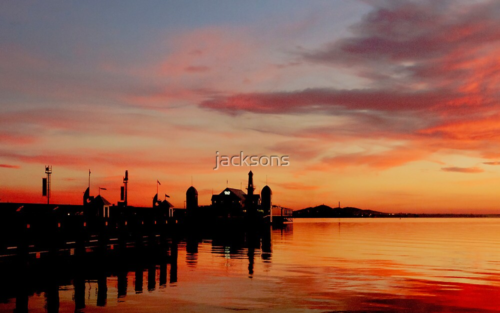 Geelong Sunrise by jacksons