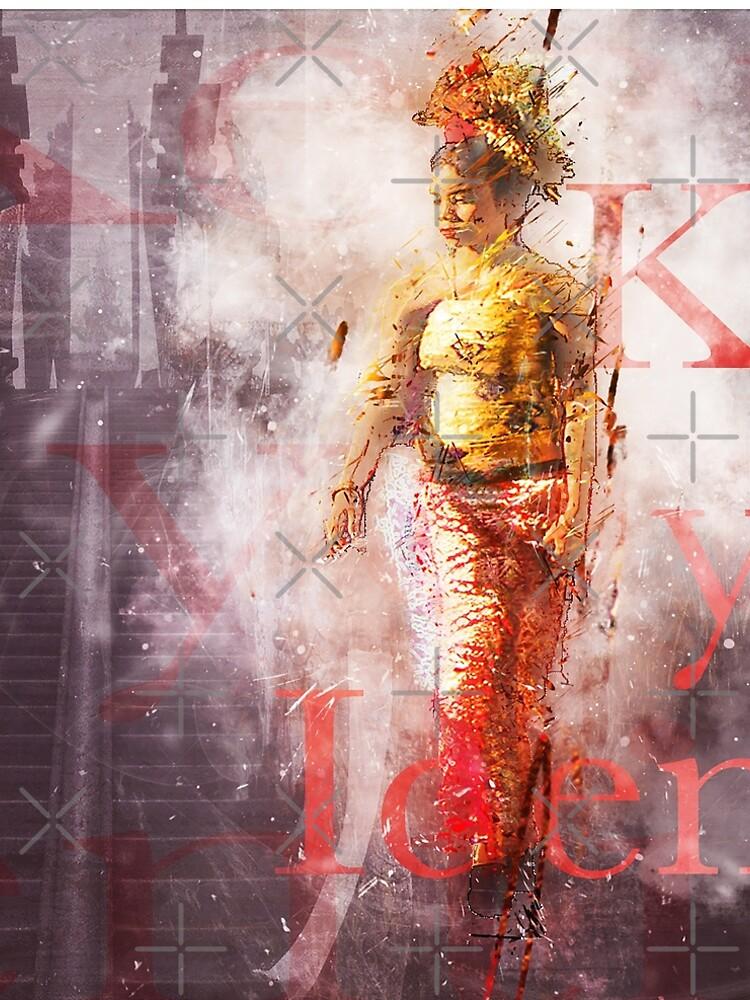 Balinesische Frau im Vintage-Grunge-Stil von ChristaFossati