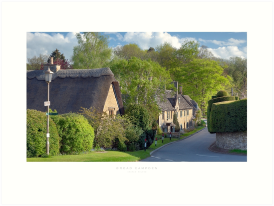 Broad Campden, Gloucestershire by Andrew Roland