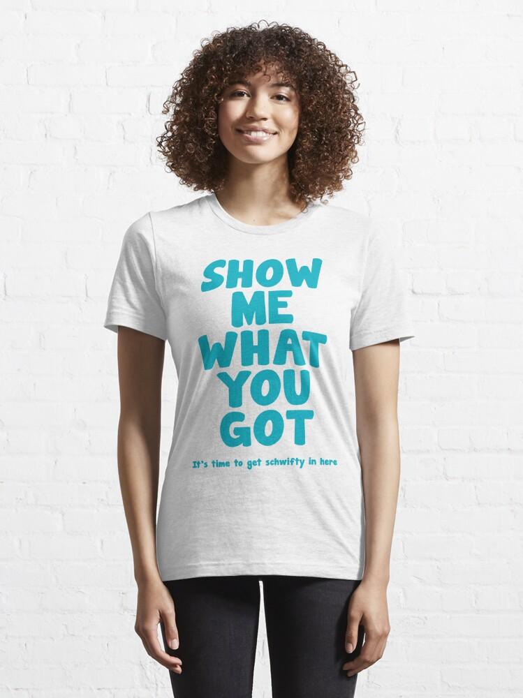 Alternate view of Schwifty Essential T-Shirt