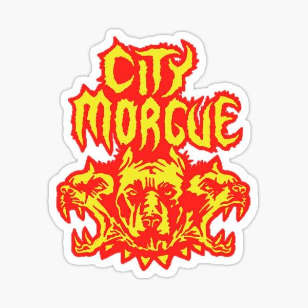 Fourcit Show City As Good As Morgue American Tour 2020 Sticker