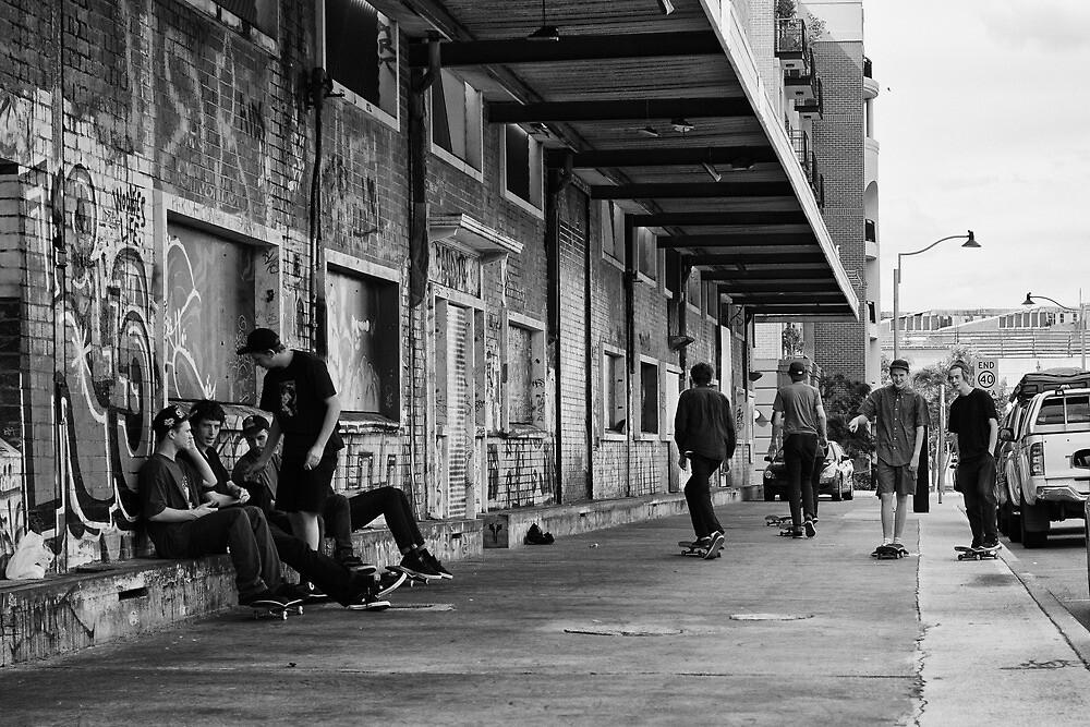 Skate Hangout by Daniel Carr
